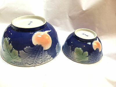 Vintage Oriental Porcelain Bowls,amazing Quality,very Rare Marked.