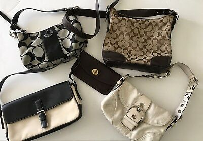 Coach purse Lot sold as is