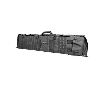 New NCStar VISM Tactical Rifle Gun Carry Case Bag w Shooting Mat - Urban Grey