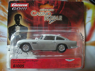 Carrera GO 61005  James Bond Auto 007 Aston Martin DB5S 1962 Goldfinger rar