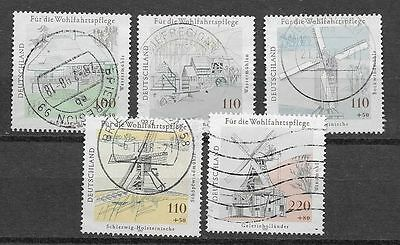 Germany Sc# B820-4 Used Stamps