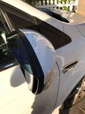 Ford Kuga 2013-2016  Mirror Rain Deflector Visor Smoked Eyebrows