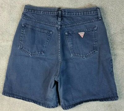 Vintage Guess Jeans Womens Size 3 Button Fly High Waisted Shorts 90s 80s