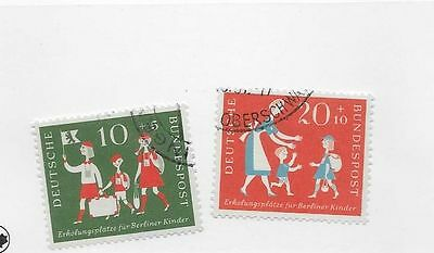Germany Sc# B354-5 Used Stamps