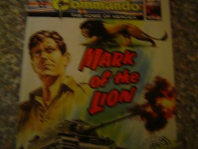 COMMANDO WAR COMIC NUMBER 4931 mark of the lion free postage