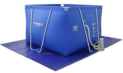 Above ground Therapy Exercise Swimming Pool Fitmax IPool, Blue