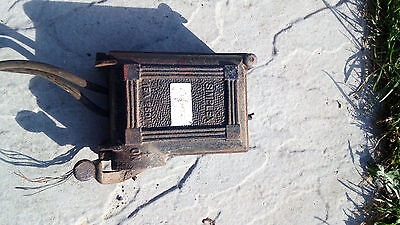 vintage industrial switch fuse SIMPLEX
