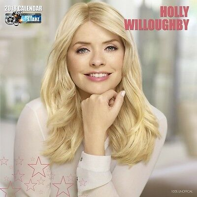 Pre Order Holly Willoughby 2018 Calendar , Holly Willoughby Calender