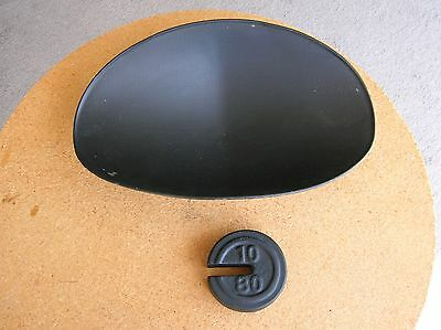 Vintage Balance Scale Weight Metal Pan Raised Grain Scoop General Candy Store