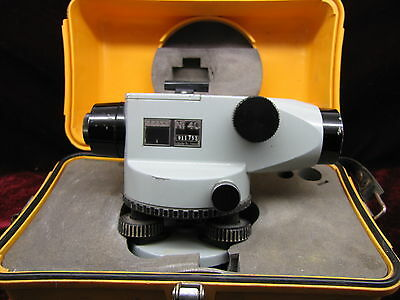 CARL ZEISS Ni 40 AUTOMATIC LEVEL, SURVEYING, TRIMBLE, TRANSIT With Case
