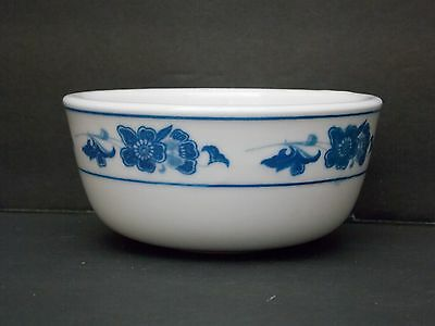 China Star * Guoguang China ~ Restaurant Blue Floral & Band ~ Small Bowl