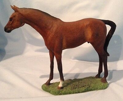 """Country Artists Horses Thoroughbred Good Looks 6.25"""" Resin Figurine 03904 $29.99"""