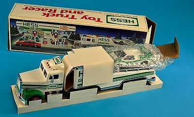 Hess Toy Truck and Racer 1991 New In Box NR