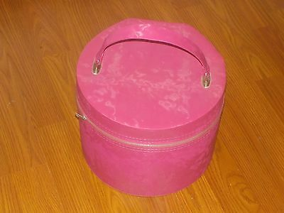 Wig / Hat Box  Small  Pink  Sealatron Corp.    8""