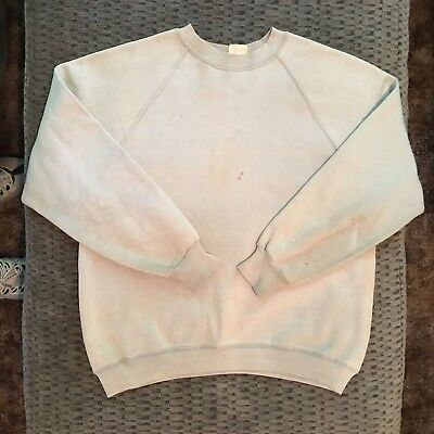 Vintage 60's Springfoot Distressed Sunfaded Crewneck Sweatshirt