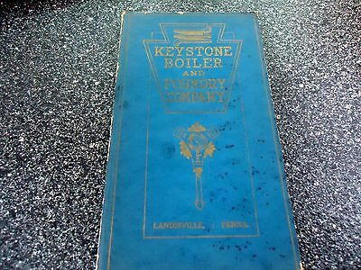 "1928 ""  Keystone Boiler And Foundry Co   Catalog,"