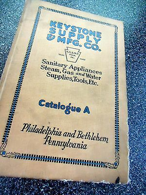 "1922 ""    Keystone Supply Mfg. Co, Philadelphia    Catalog  A"