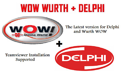 Wurth WOW! OR DELPHI 2015 R1 FULL Software (hex2stuff) + Activation Multilingual
