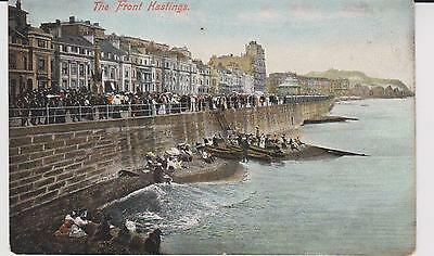 Vintage postcard The Front Hastings
