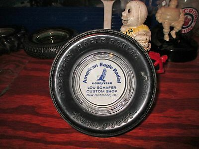 Nice NOS Vintage GOODYEAR TIRE - Replica Promotional Tire Ashtray