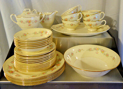 36 Piece Set of Homer Laughlin Eggshell Georgian Countess