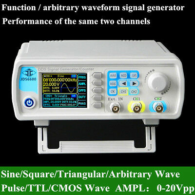 15/30/40MHz Dual-channel DDS Arbitrary Waveform Function Signal Generator W/ CD