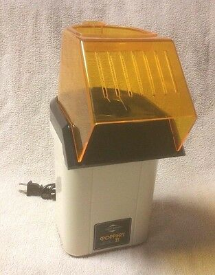 WEST BEND POPPERY II 2 Hot Air Electric POPCORN POPPER 82102 Coffee Roaster GUC