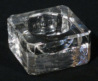 1900s Scarce Antique SOZODONT Glass INKWELL Toothpaste Dentist Advertising N/R!