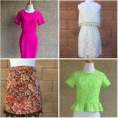 Women's Nordstrom TOPSHOP Size US 4 Small Dress Skirt Shirt Summer Lot Of 4