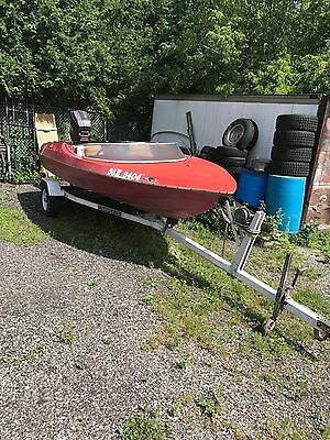 16' Original Sidewinder  with 115hp outboard project boat *read*