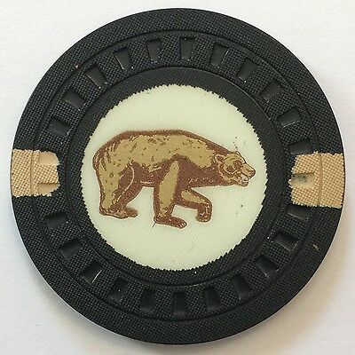 Early CALIFORNIA CLUB Las Vegas $100 Casino Chip EXTREMELY SCARCE! *No Reserve*!