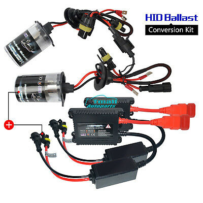 55W AC Slim HID Xenon Headlight Conversion Bulb Kit H1/H3/H4/H7/H8/H9/H11/9005/6