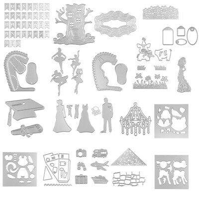 Ballet Girl Cutting Dies Stencils For Diy Scrapbooking Embossing Card Craft NEW