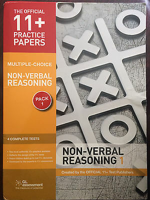 GL Assessment 11+ Practice Papers, Multiple Choice: Non-verbal Reasoning Pack 1
