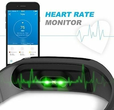 Sports Wristband Gym Watch Heart Rate Pulse Calorie Calculator Monitor Fitness
