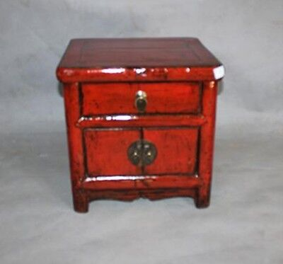 Bedside Cabinet Chinese Furniture Nightstand Antique Cupboard Oriental Asian