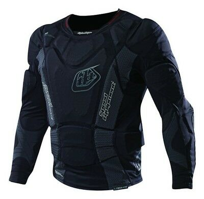 YOUTH Troy Lee Designs/Shock Doctor Hot Weather Long Sleeve Shirt Body Armour MX
