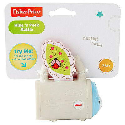 Fisher Price Hide And Peek Teether Rattle Brand New Cdt78