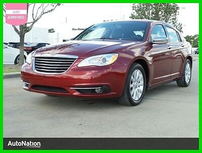 2013 Chrysler 200 Series Limited 2013 Limited Used 3.6L V6 24V Automatic Front Wheel Drive Sedan