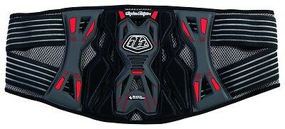 Troy Lee Designs/Shock Doctor KB3305 ADULT KIDNEY BELT GREY Motorcross MX