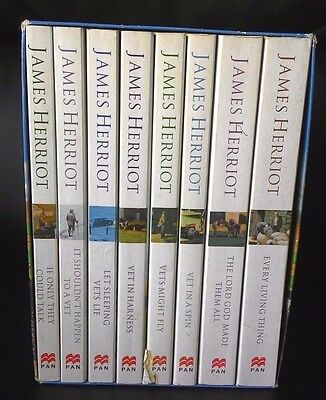 James Herriot Books Complete Paper Back Box Set