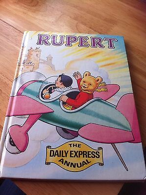rupert bear book the daily express Annual 1983