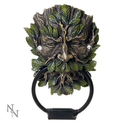 Green Man Door Knocker - Celtic - Pagan - Wiccan - Wildwood Door Knocker