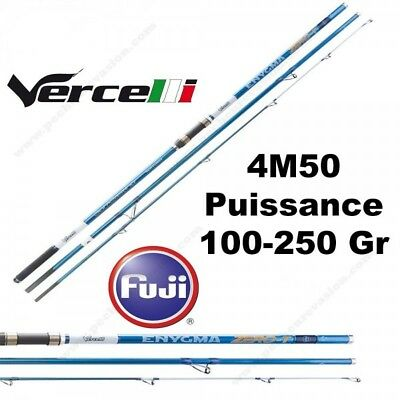 Canne Mer Surf Vercelli Enygma Zero-T Tubulaire 4M50