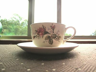 Vintage Purple Floral Cup & Saucer, made in Japan. Very pretty set