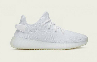 Adidas x Yeezy Boost 350 V2 SPLY Triple White CP9366 Mens Size 9.5 US