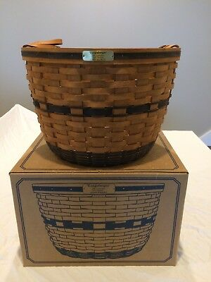 Longaberger JW Collection 1991 Corn Basket New With Box