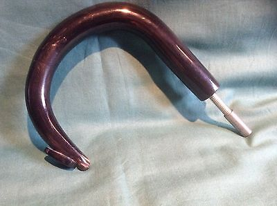 Polished Buffalo Horn  Walking Stick/crook Handle ,  Classic Design, Last One