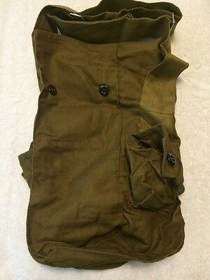 Vintage soviet USSR Russian Gp-5 Gas Mask  Carrier Bag Military Army
