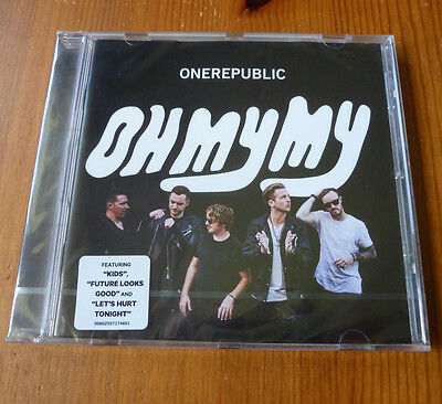 ONE REPUBLIC Oh My My Deluxe Edition 2016 CD New